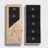 5 par sorte dressokker fra Bambusa i innpakning